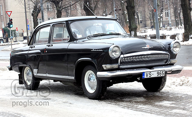 GLS - Retro Cars in Riga | 1965 GAZ-21 Volga